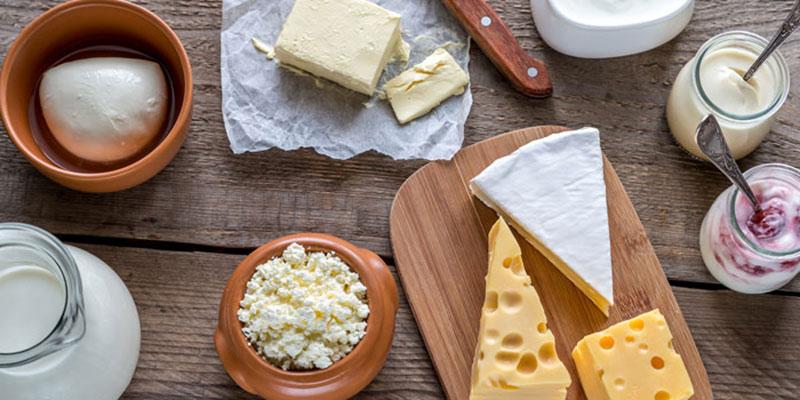 Bảo quản các sản phẩm từ sữa trong tủ lạnh