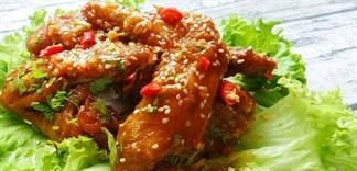Đổi vị với món cánh gà sốt chua cay kiểu Thái