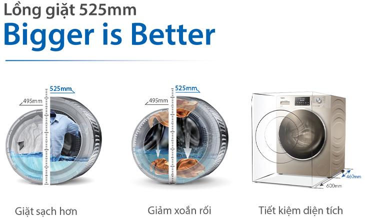 Lồng giặt 525 mm