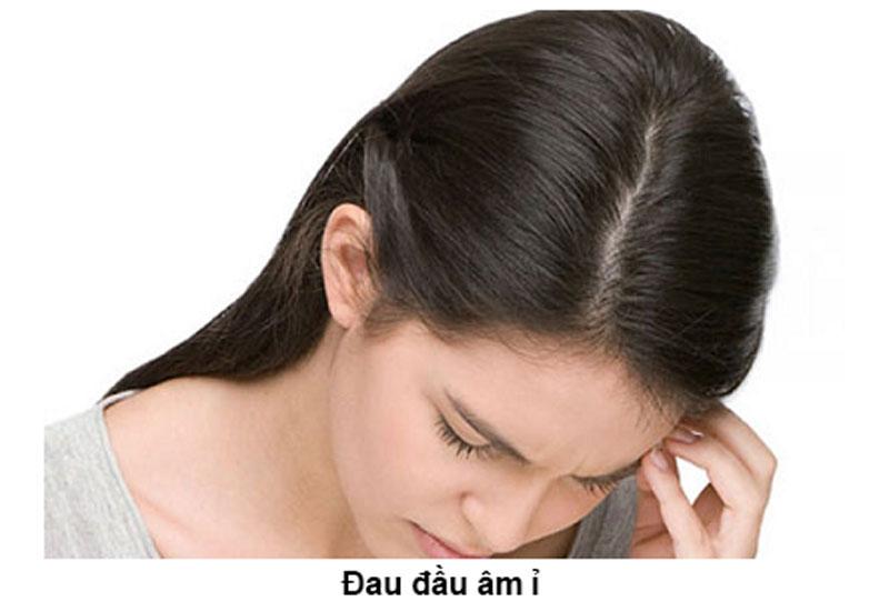 Triệu chứng đau đầu căng cơ
