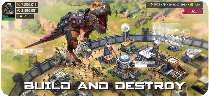 Dino War: Survival