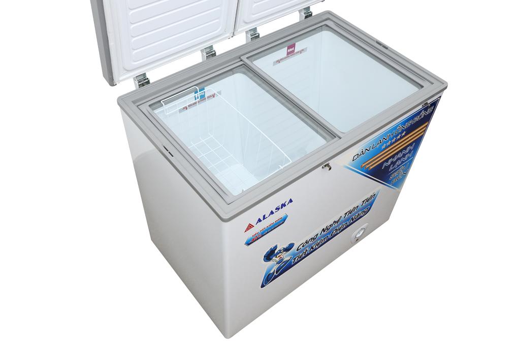 Tủ đông 2 ngăn Alaska 250 lít BCD-3068C