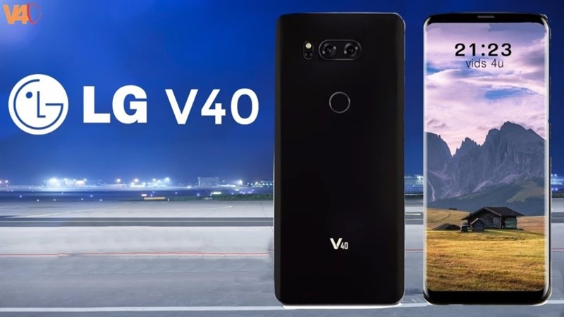 LG xác nhận LG V40 sẽ trang bị màn hình OLED
