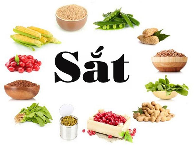 Sắt trong dinh dưỡng cho người ăn chay
