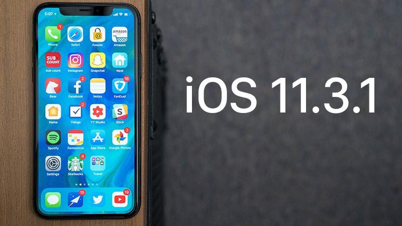 iOS 11.3.1 chính thức phát hành: Cách cập nhật và có gì mới?