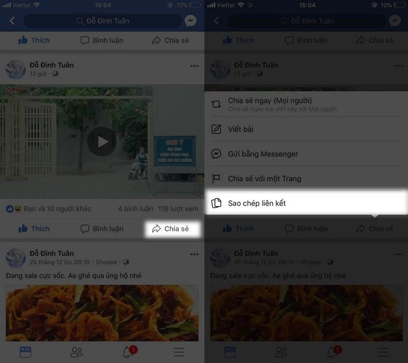 Cách tải video Facebook chất lượng cao về điện thoại và máy tính 2019