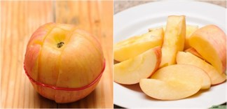 Thì ra trước giờ chúng ta đã cắt táo hoàn toàn sai cách!