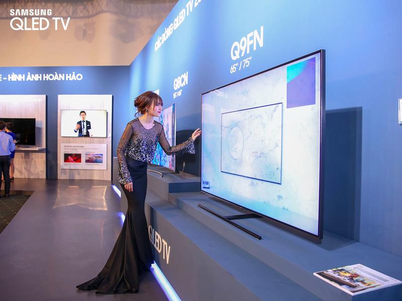 Tổng quan các dòng tivi Samsung QLED 2018