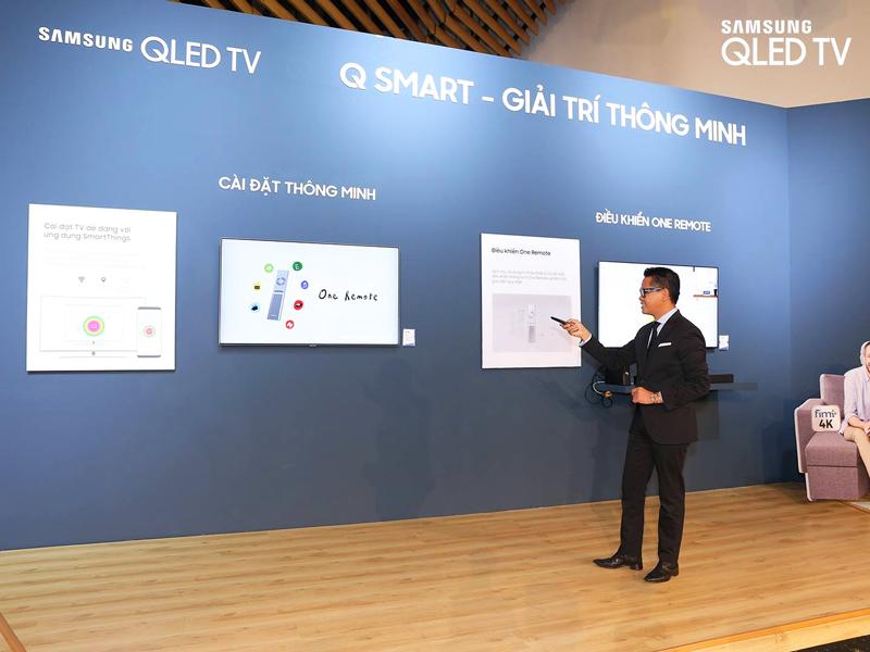 Kết nối thông minh Q-Smart trên tivi Samsung 2018