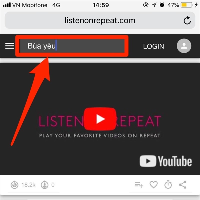 lặp lại youtube