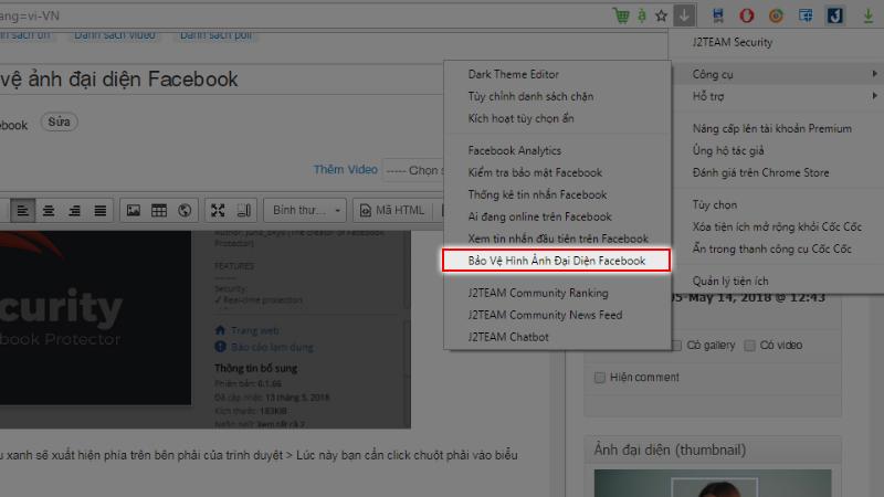 Hướng dẫn kích hoạt tính năng bảo vệ ảnh Đại diện Facebook