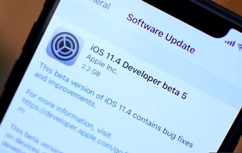 iOS 11.4 Beta 5 có gì mới ? Cách cập nhật nó như thế nào ?