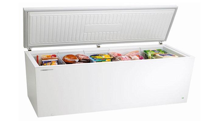 Lấy hết thực phẩm ra khỏi tủ đông