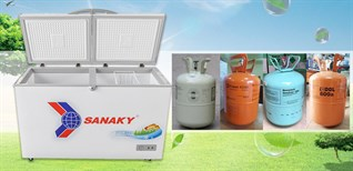 Tổng hợp các loại gas của tủ đông, tủ lạnh trên thị trường hiện nay