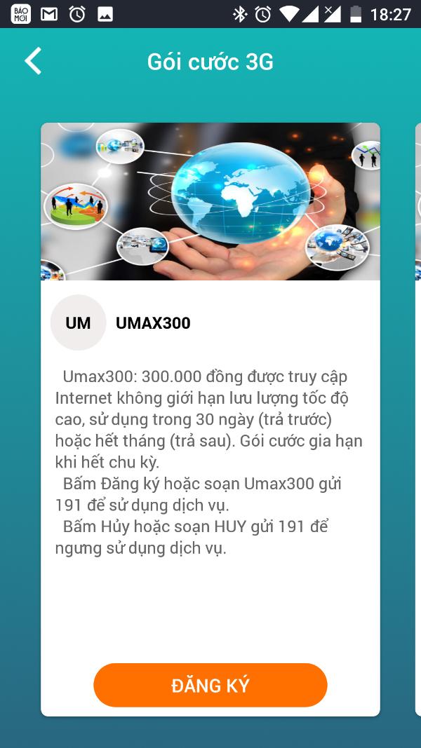 Hướng dẫn đăng ký UMAX300 Viettel: Không giới hạn lưu lượng