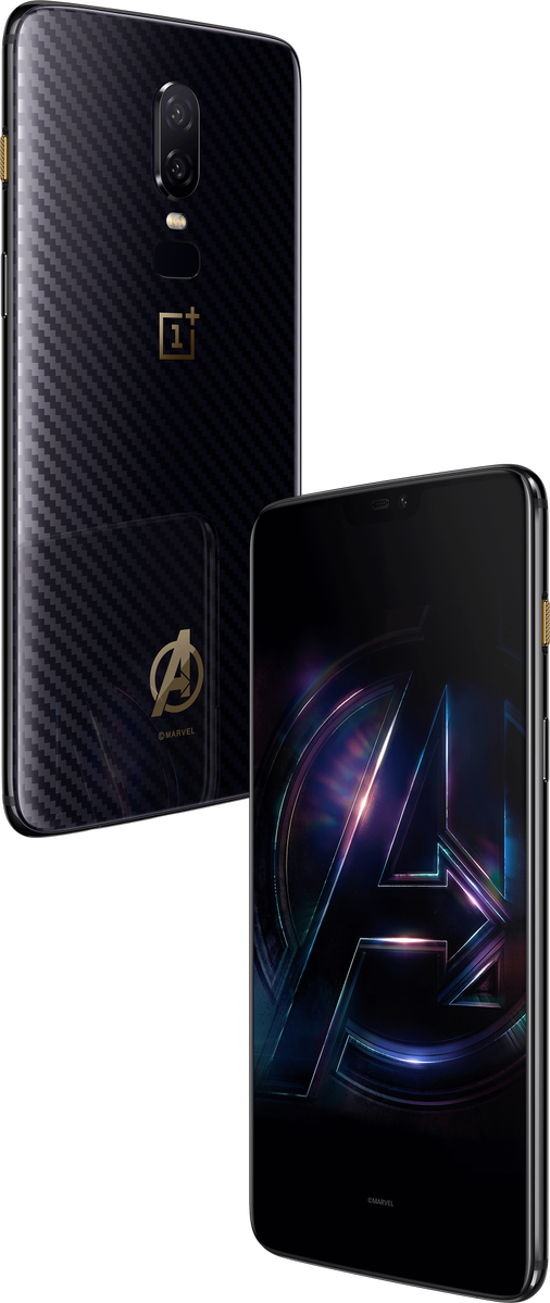 OnePlus 6 Avengers: Infinity War Limited Edition