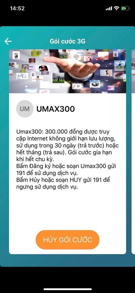 Thực hư về gói cước UMAX300 không giới hạn tốc độ của Viettel - ảnh 4