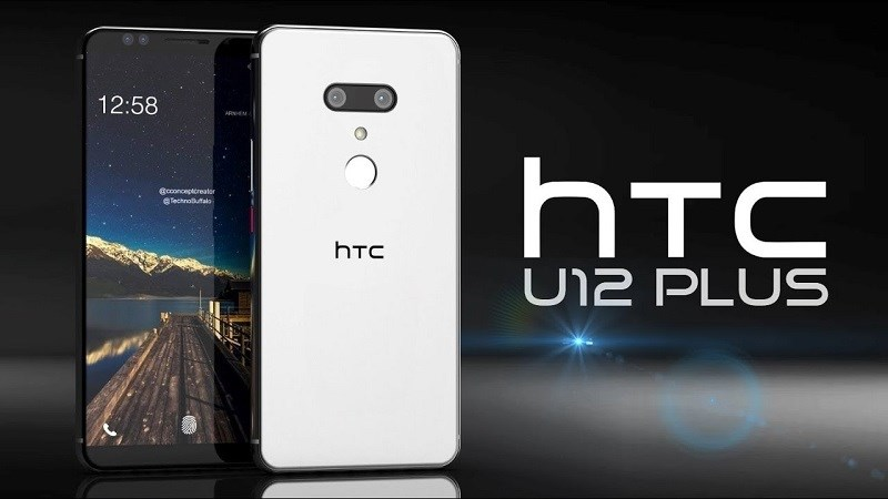 HTC U12+: Hình ảnh render chính thức và chi tiết cấu hình được tiết lộ - ảnh 1