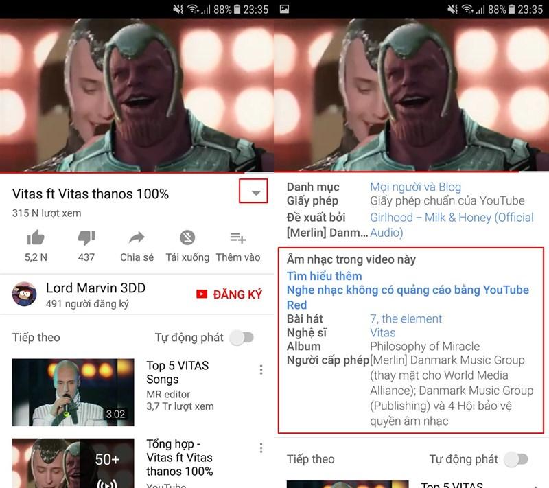 Đây là cách biết ngay tên bài hát trong video trên YouTube - ảnh 3