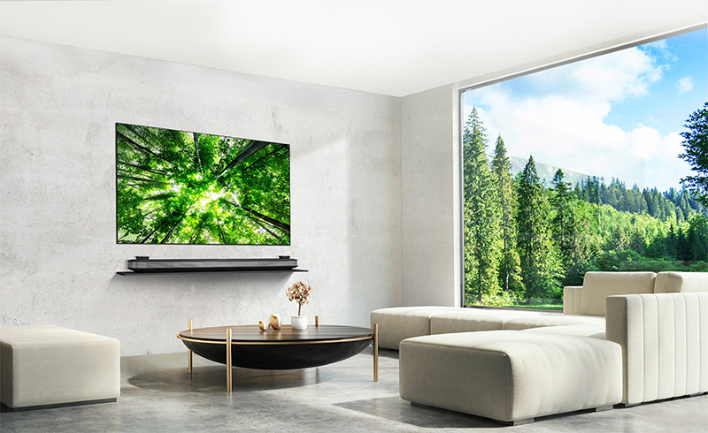 Dòng tivi LG OLED Picture on wall 2018