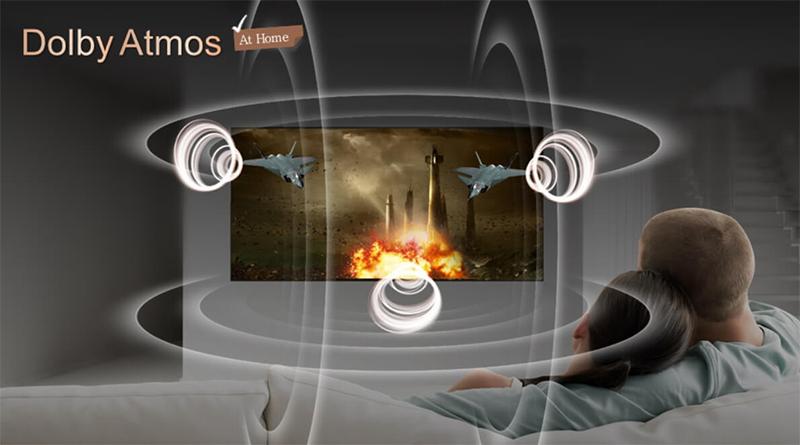 Công nghệ âm thanh Dolby Atmos trên tivi LG 2018