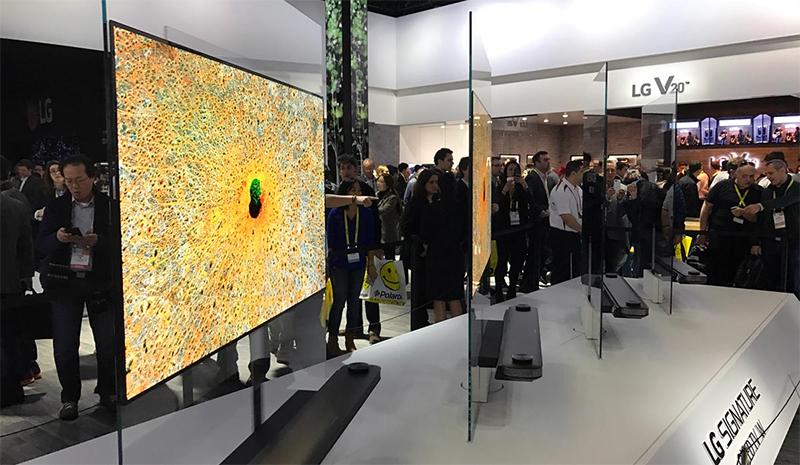 Tổng quan dòng tivi OLED năm 2018