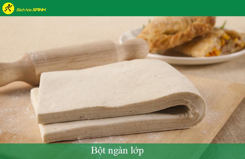 Bột ngàn lớp là tên gọi tiếng Việt của Puff Pastry