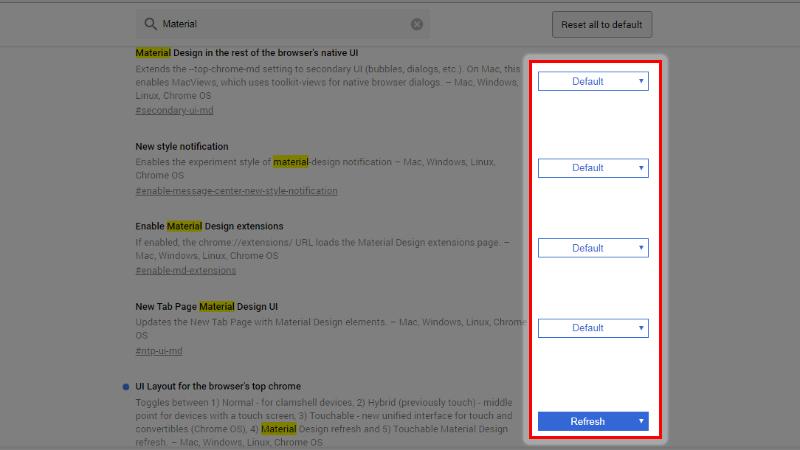 Cách thay đổi giao diện Google Chrome hiện đại, cực đẹp