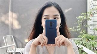 Trải nghiệm camera Galaxy A6+: Trước sau đều tốt
