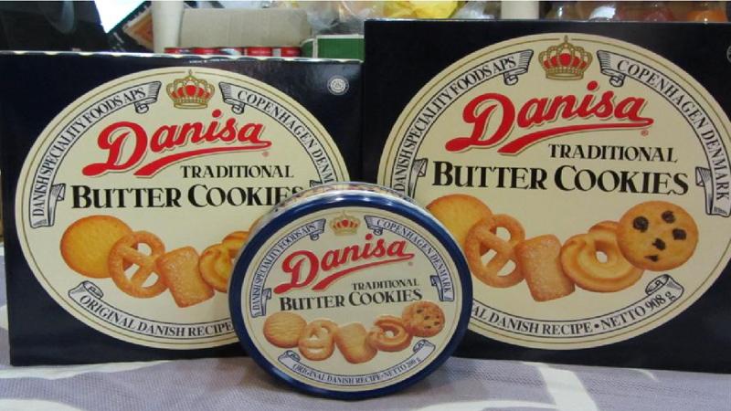 Các loại bánh Danisa
