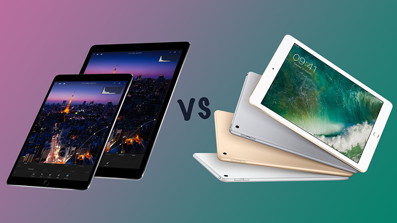 iPad Pro và iPad 2018