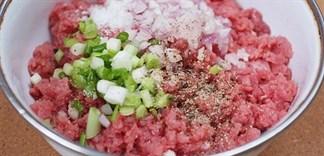 Cách làm 3 món thịt bằm ăn mãi không chán