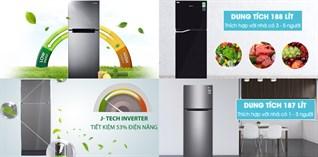 Top 5 tủ lạnh Inverter bán chạy nhất tháng 4/2018 tại Điện máy XANH