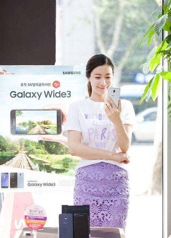 Samsung Galaxy Wide 3 tầm trung ra mắt tại Hàn Quốc