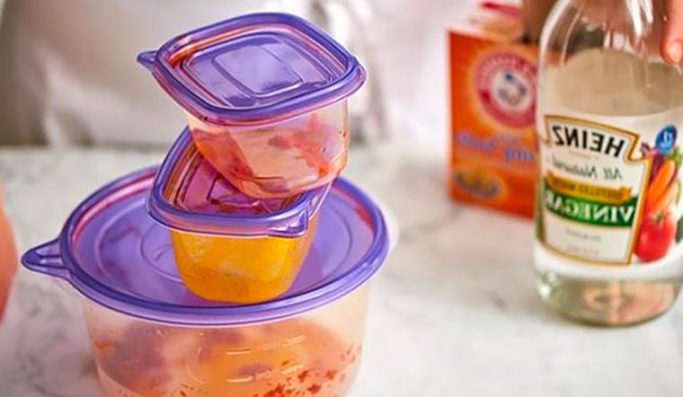 7 mẹo khử mùi hôi siêu nhanh cho hộp nhựa mà bạn chưa biết