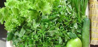Các loại rau có khả năng chưa nhiều giun sán nhất