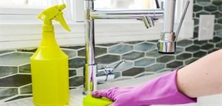 5 vật dụng không được dùng giấm để tẩy rửa