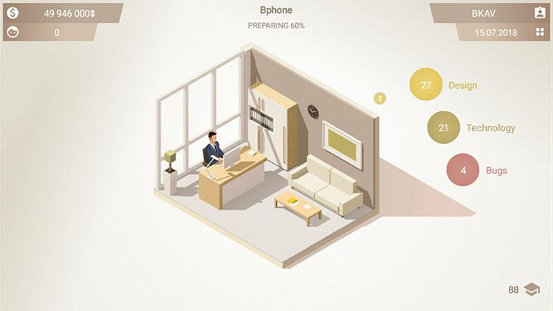 Đánh giá Smartphone Tycoon: Tựa game xây dựng đế chế điện thoại tỉ đô - ảnh 1