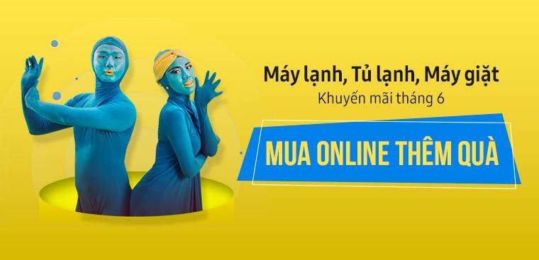 Khuyến mãi tháng 6 Online