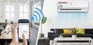 Hướng dẫn kết nối và điều khiển dòng máy lạnh wifi LG bằng điện thoại