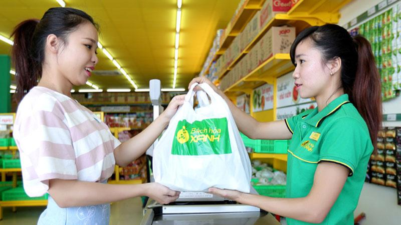 Phiếu mua hàng Bách Hoá Xanh