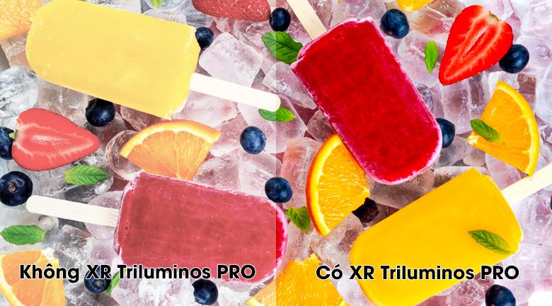 Công nghệ xử lý hình ảnh XR Triluminos Pro