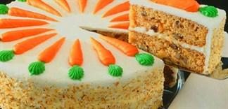 Làm bánh bằng cà rốt, bạn đã thử chưa?