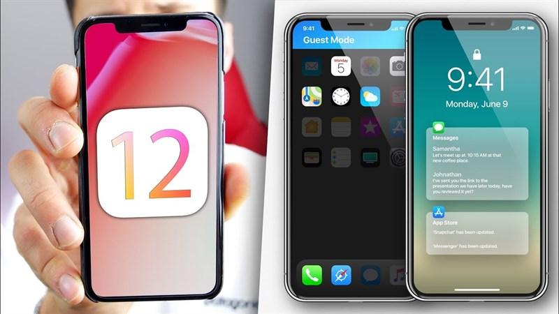 Hướng dẫn cách cập nhật iOS 12 cho iPhone, iPad nhanh hơn và mạnh hơn