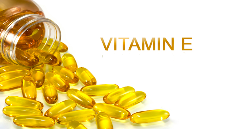Vitamin E giúp cấu trúc tóc chắc khỏe, giảm hư tổn, sơ rối và giúp kích thích mọc tóc.