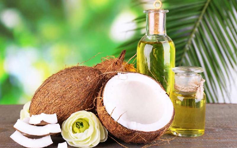 Dầu dừa có thành phần kháng khuẩn và chất dầu giúp cung cấp độ ẩm nuôi dưỡng chân tóc khỏe, phát triển tốt, trị gàu, giảm gẫy rụng tối ưu.