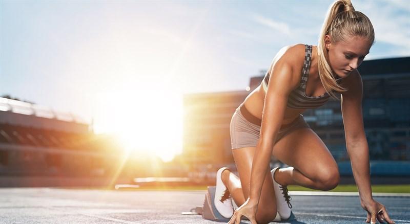 Kẹp tóc mái gọn gàng khi chơi thể thao, vận động mạnh