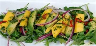 Cách làm salad xoài chua ngọt đơn giản mà ngon tuyệt