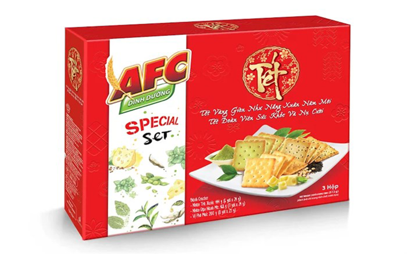 Giảm cân khoẻ mạnh với bánh mặn AFC
