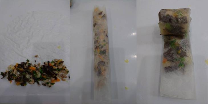Cách làm bánh tráng lụi bước 3